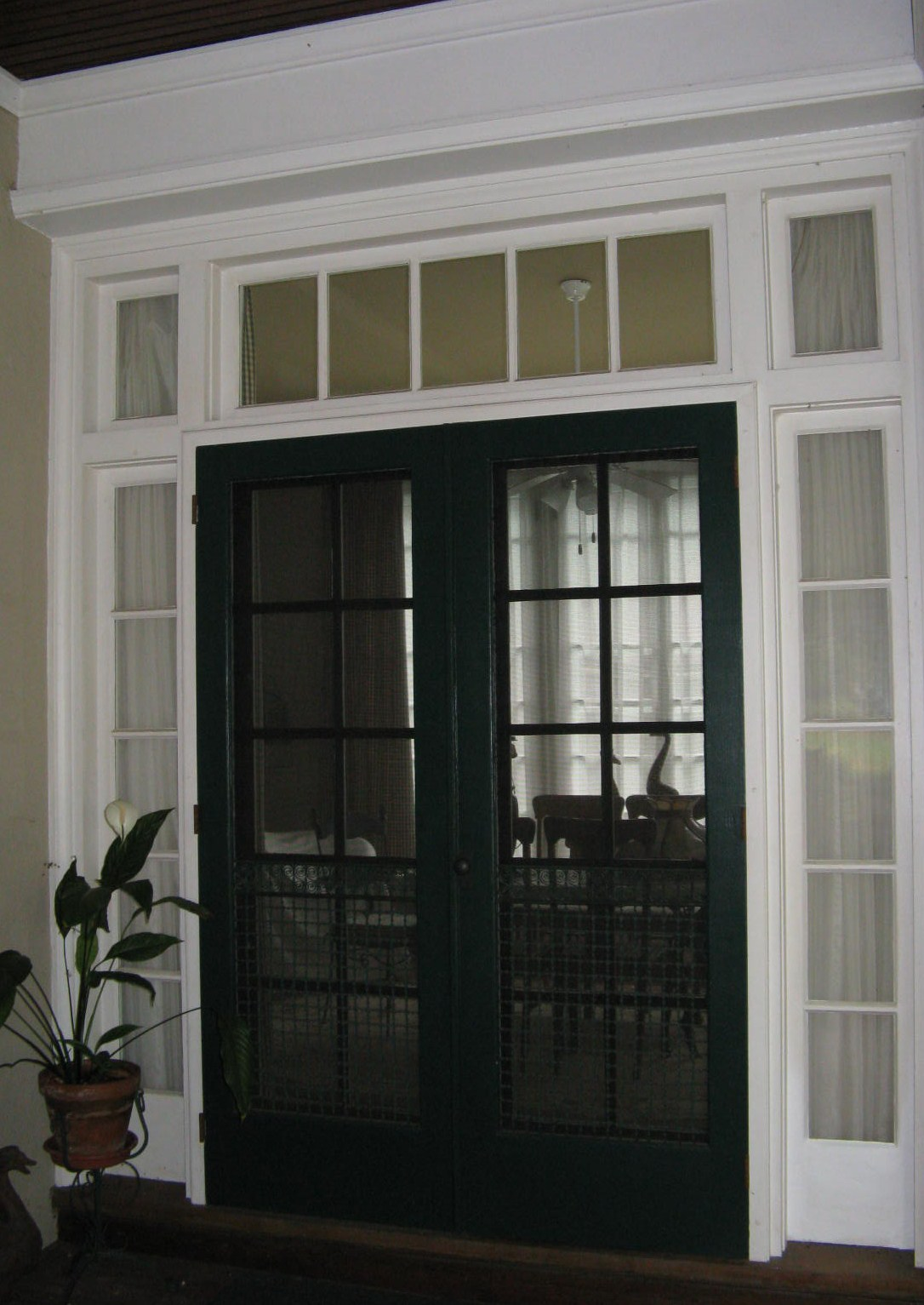 124 lemoyne ave - Double french doors with screens ...